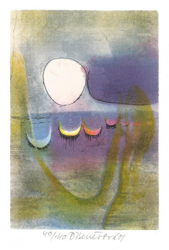 Benešová Daniela - Reflections - Print