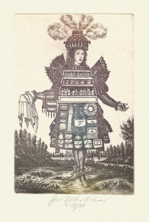 Vychodilová Olga - Apothecary - Print