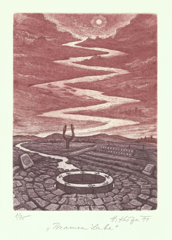 Kisza Herbert - The Elbe Spring - Print