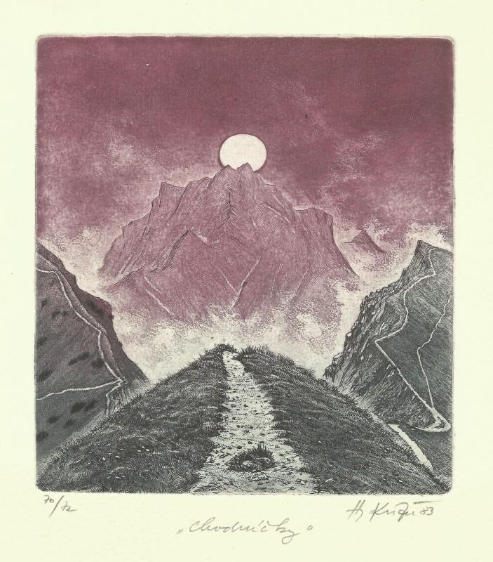 Kisza Herbert - Little Paths - Print