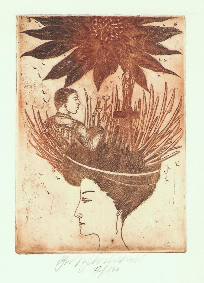 Vychodilová Olga - Múzy - Sochařství - Grafika