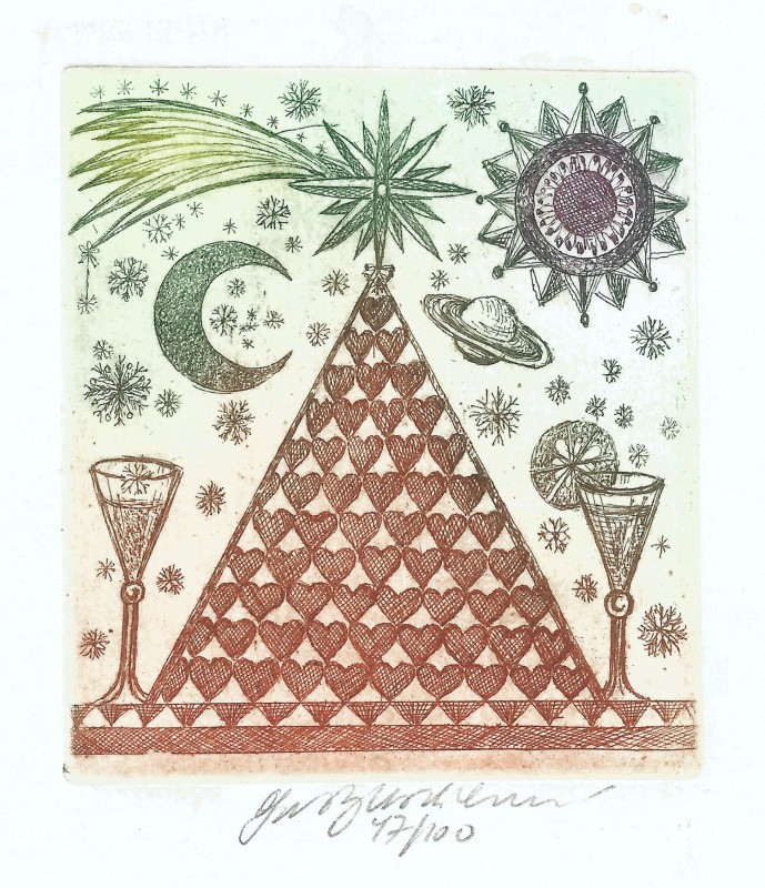 Vychodilová Olga - Pyramida - Grafika