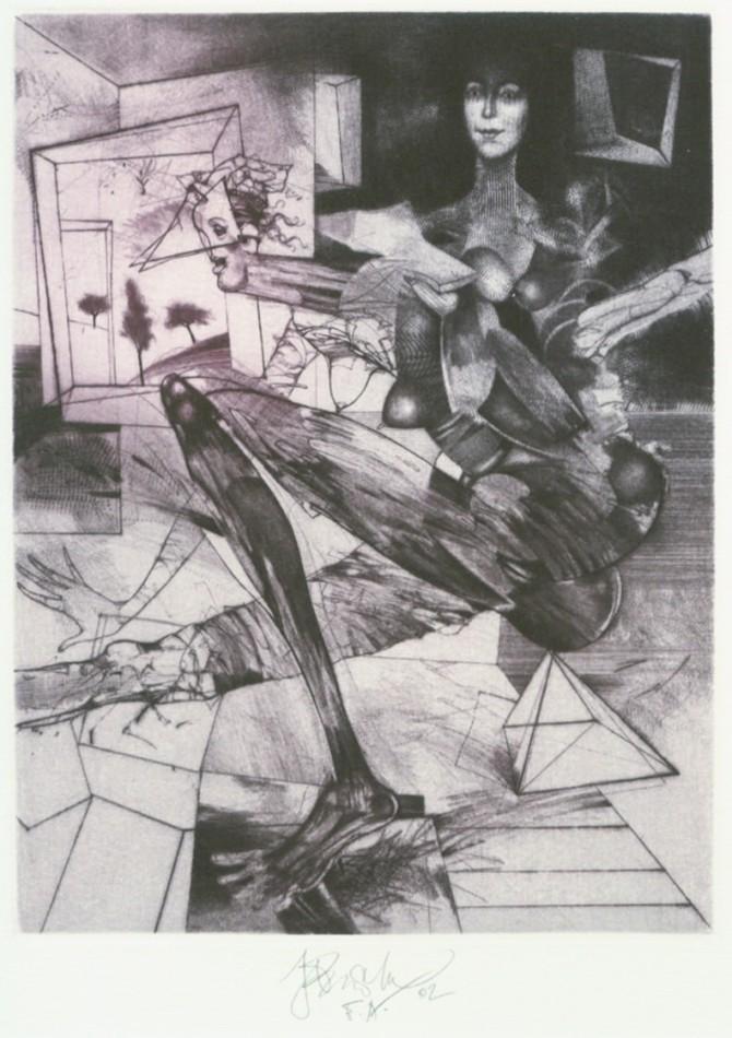 Brázda Jiří - On the Edge - Print
