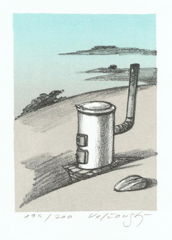 Velčovský Josef - On the Islands - Print