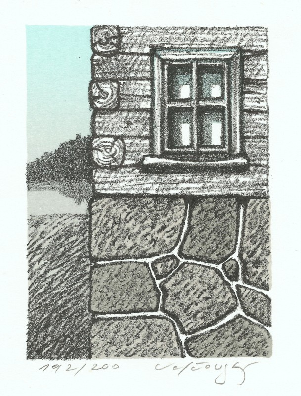 Velčovský Josef - Little Window - Print