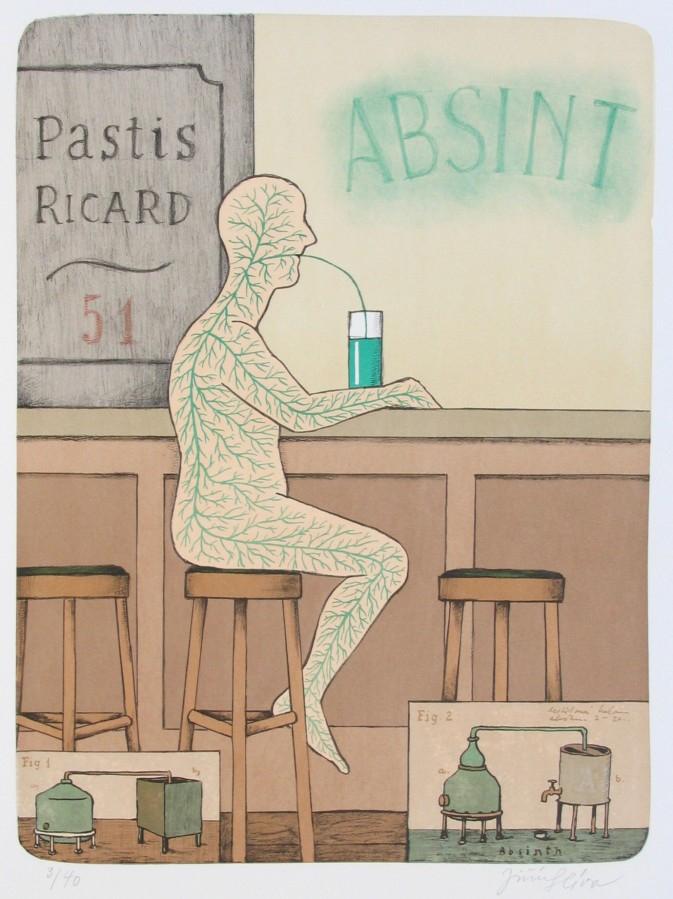 Slíva Jiří - Absinthe - Print