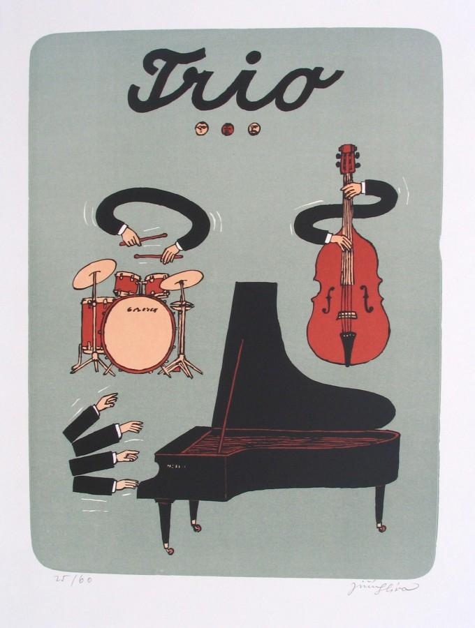 Slíva Jiří - Trio - Print
