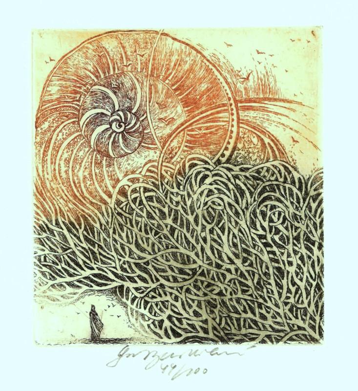 Vychodilová Olga - Labyrinth - Print