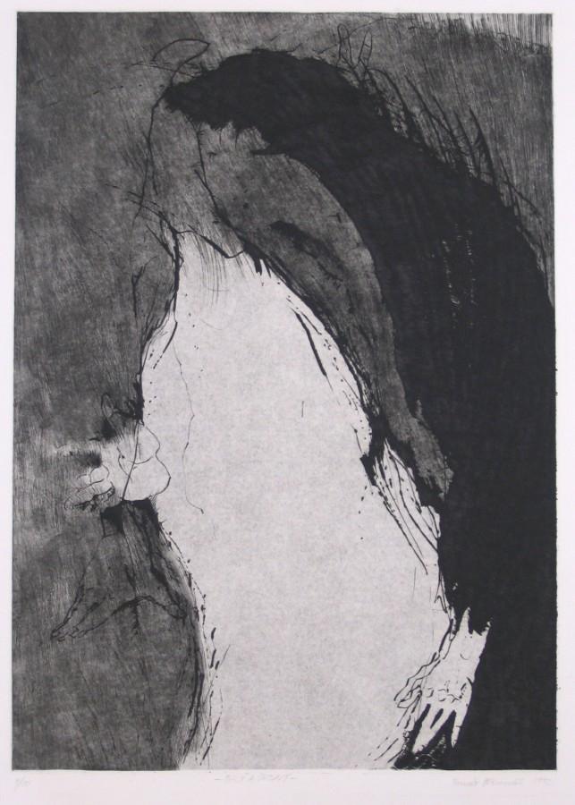 Hřivnáč Tomáš - Bílý a černý  - Grafika