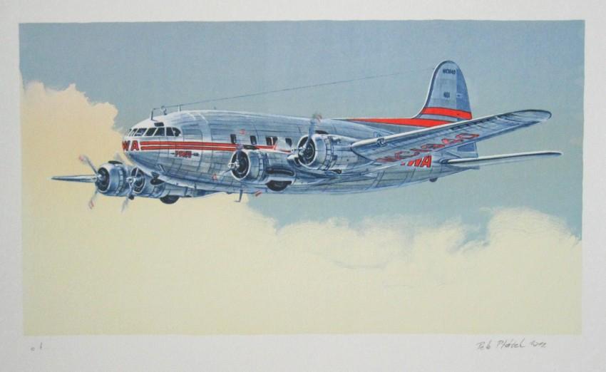 Ptáček Petr - Boeing Stratocruiser - Grafika