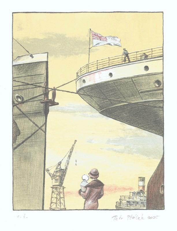 Ptáček Petr - V přístavu - Grafika