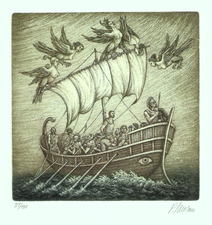 Melan Petr - Odysseus - Grafika