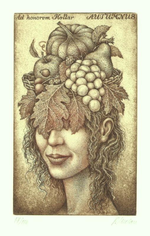 Melan Petr - Four Seasons - Autumnus - Print