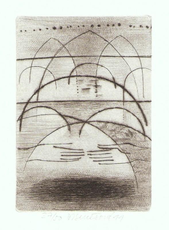 Benešová Daniela - Bridges - Print