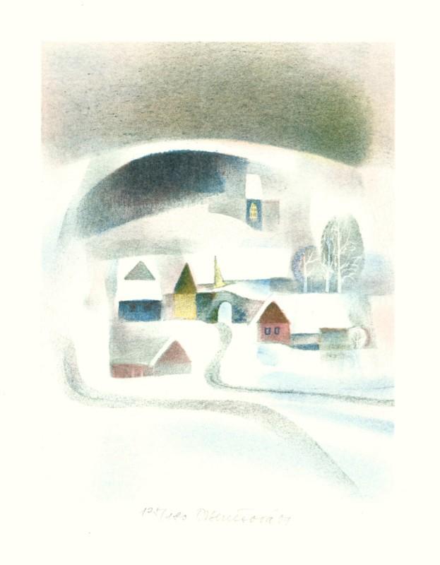 Benešová Daniela - Winter - Print