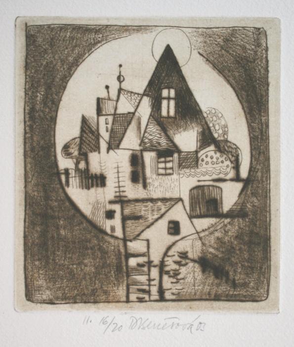 Benešová Daniela - Landscape - Print