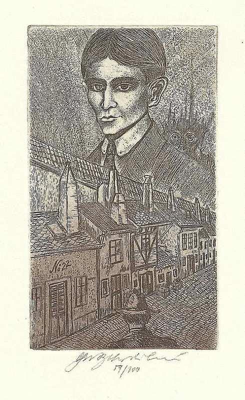 Vychodilová Olga - Kafka's House - Print