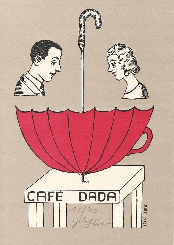 Slíva Jiří - Café Dada - Print