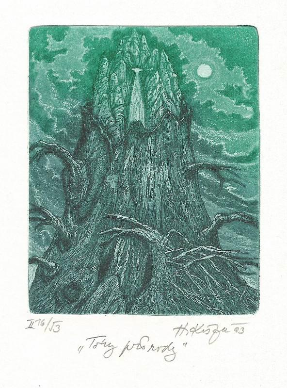 Kisza Herbert - Tóny přírody - Grafika