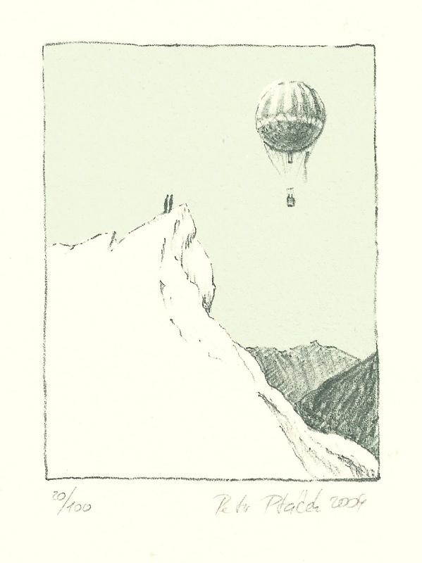 Ptáček Petr - Ledovec a balón - Grafika