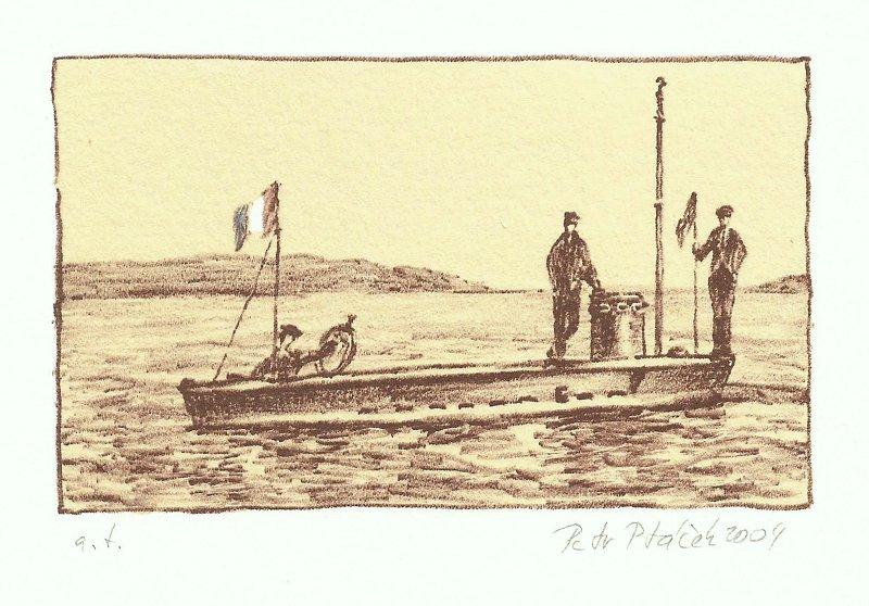 Ptáček Petr - Ponorka Gustav Zédé - Grafika