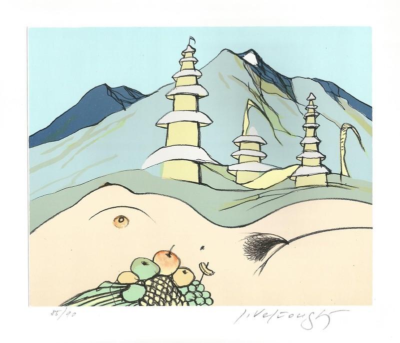 Velčovský Josef - Bali - Print