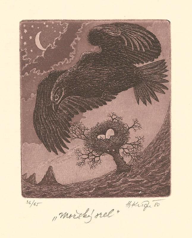 Kisza Herbert - White-tailed Eagle - Print