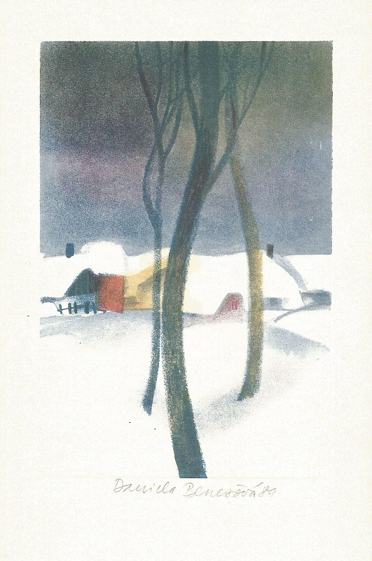 Benešová Daniela - Trees - Print