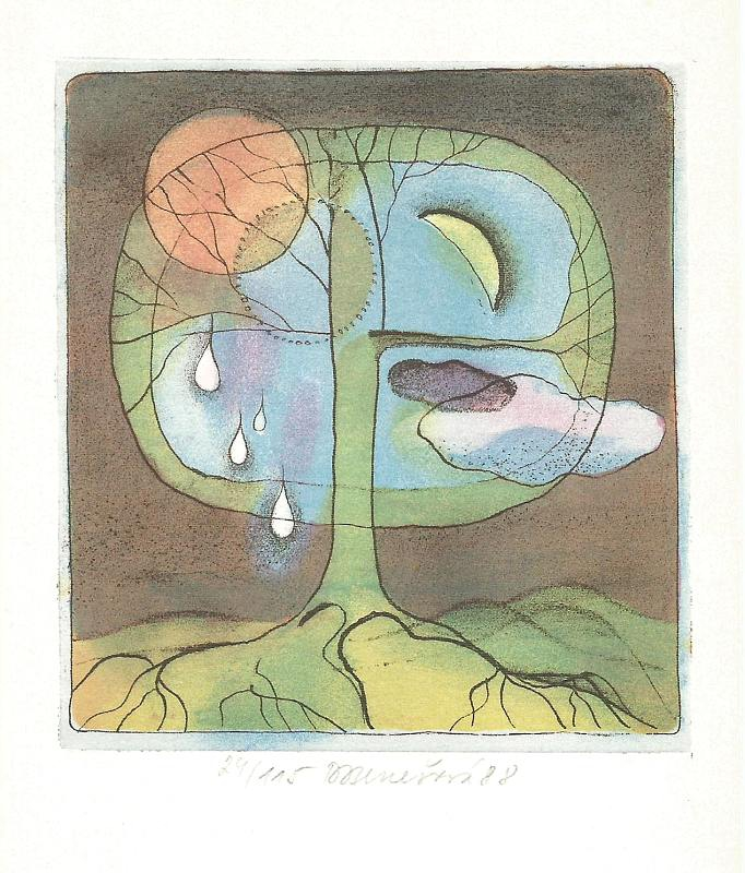 Benešová Daniela - Tree - Print