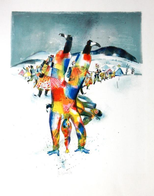 Beneš Karel - Carnival X - Print