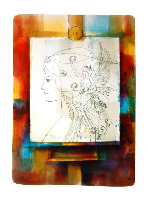 Beneš Karel - The Muses - Print
