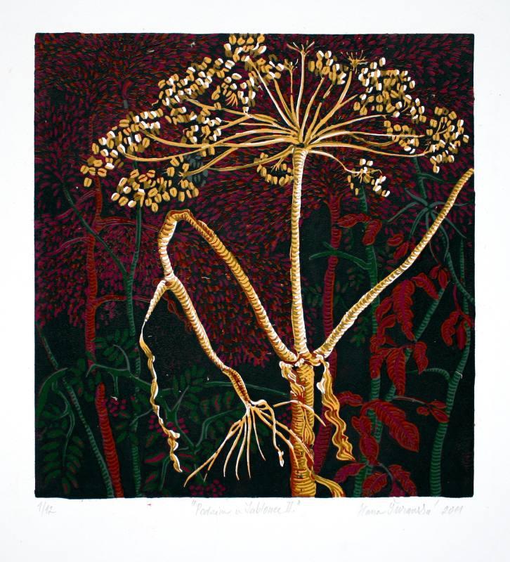 Šuranská Hana  - Podzim u Jablonce II - Grafika