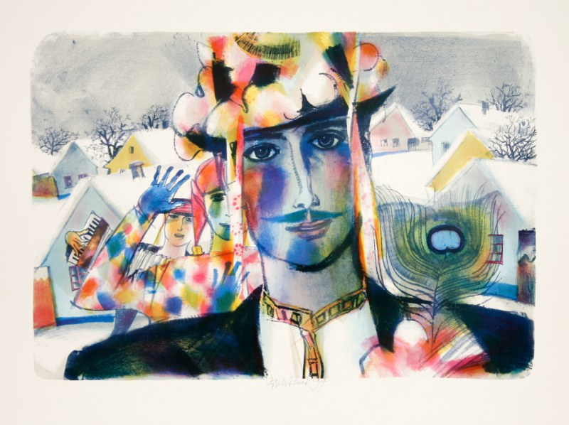 Beneš Karel - Carnival Mask - Print
