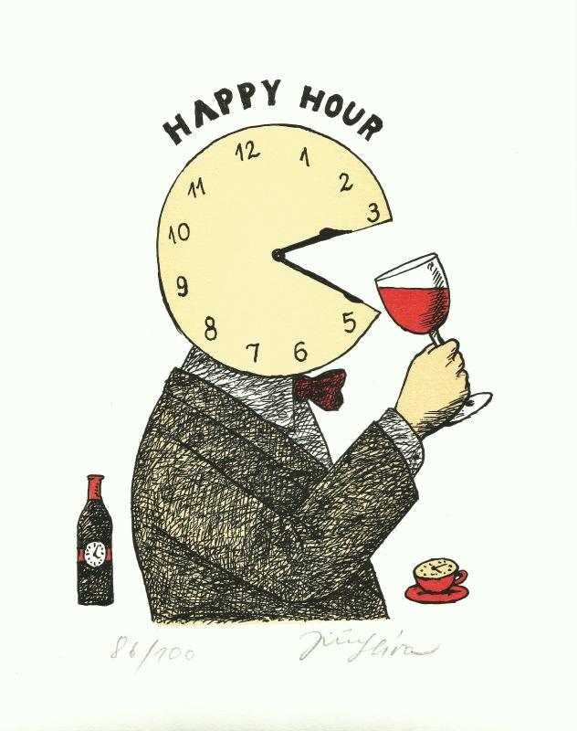 Slíva Jiří - Happy Hour - Print