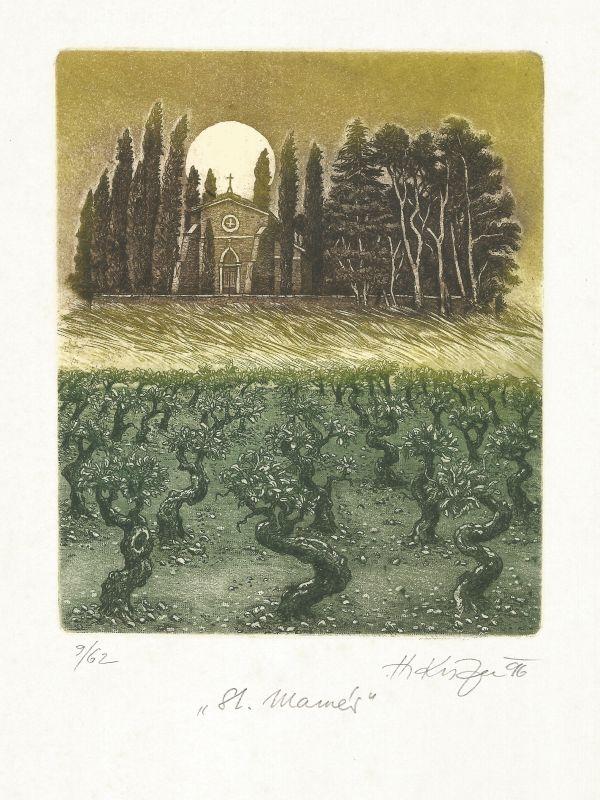 Kisza Herbert - St. Mamés - Grafika