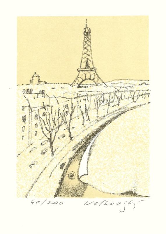 Velčovský Josef - Paříž - Grafika