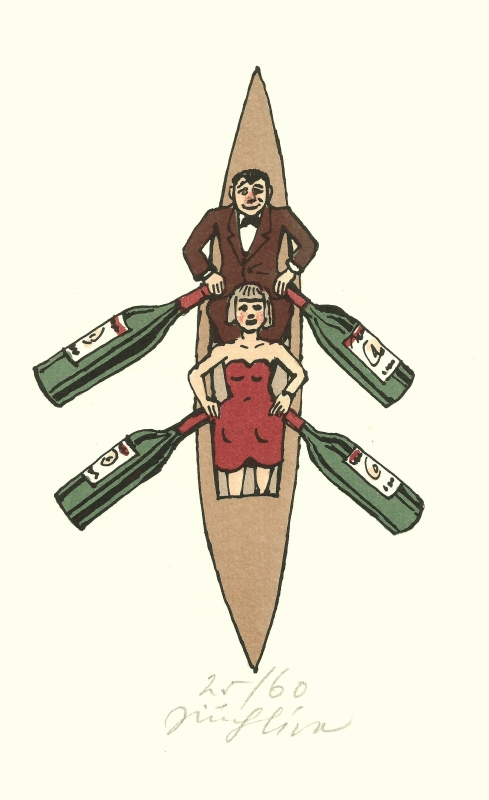 Slíva Jiří - Small Boat - Print