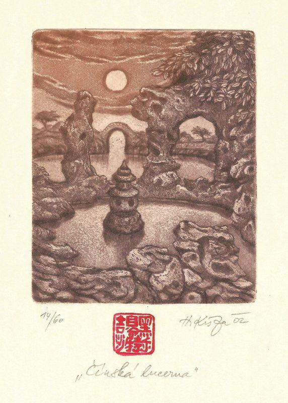 Kisza Herbert - Čínská lucerna - Grafika