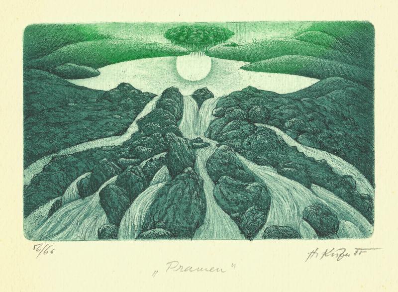 Kisza Herbert - Spring - Print