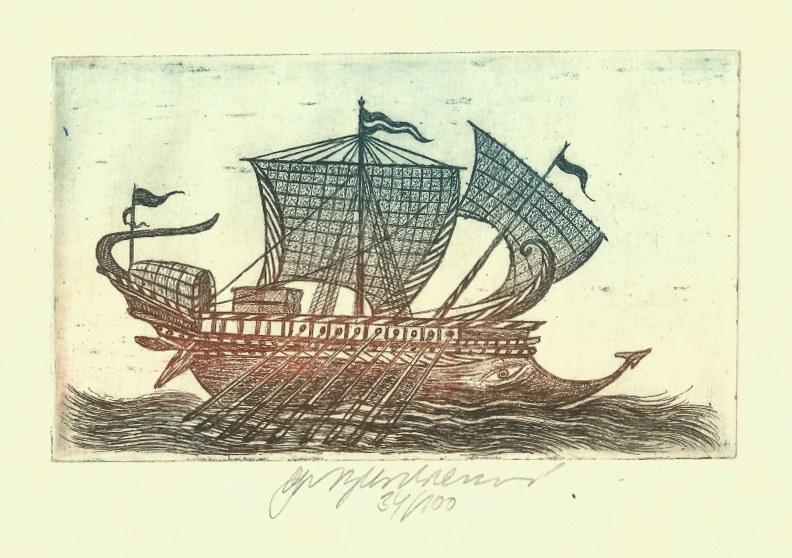 Vychodilová Olga - Roman Galley - Print