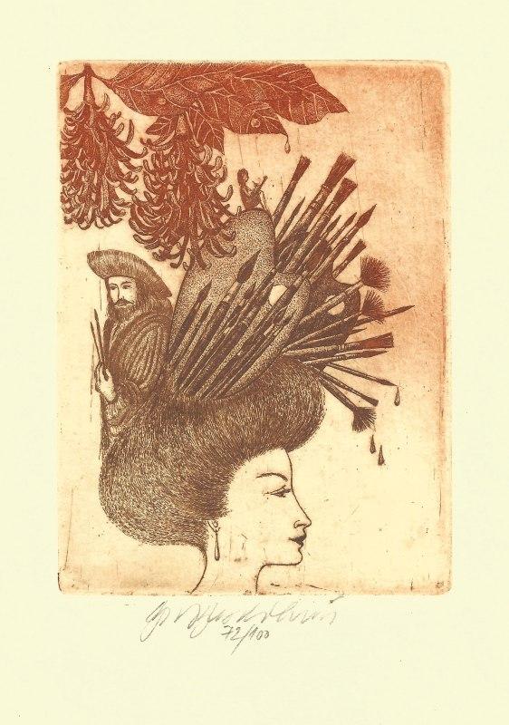 Vychodilová Olga - Muses – Fine Art - Print