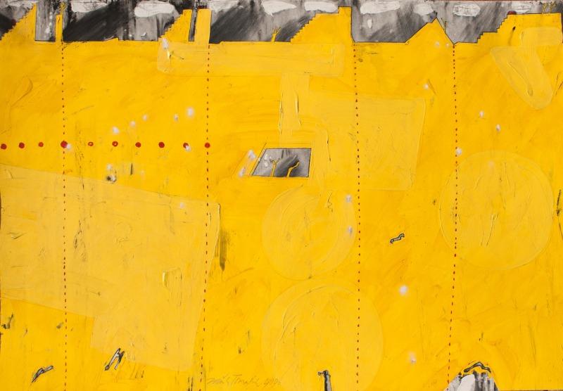 Tománek Zdeněk - Mexican Horizon - Painting