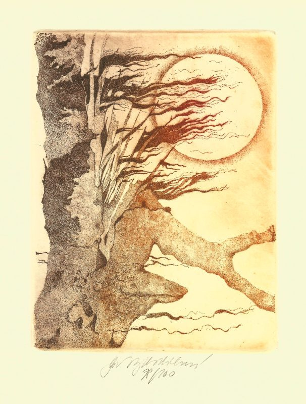 Vychodilová Olga - Tree - Print