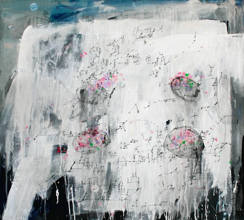 Tománek Zdeněk - Hydrangeas in Brittany - Painting