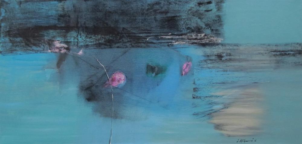 Höhmová Zdena  - Mysterious Seashore - Painting