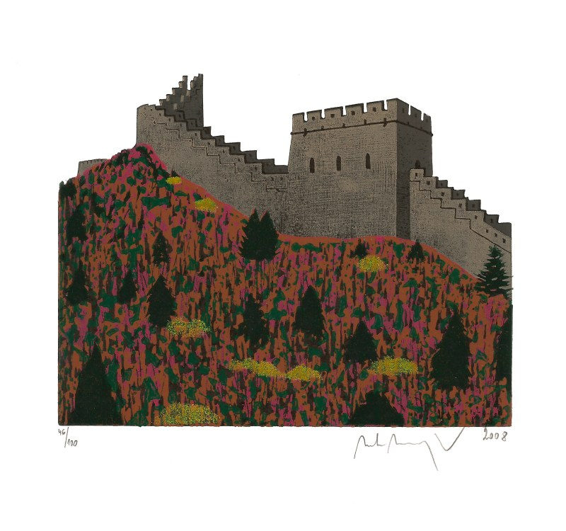 Manojlín Martin - The Great Wall of China I - Print