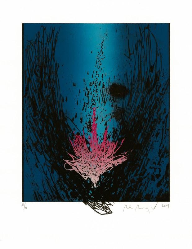 Manojlín Martin - Půlnoční květina II  - Grafika