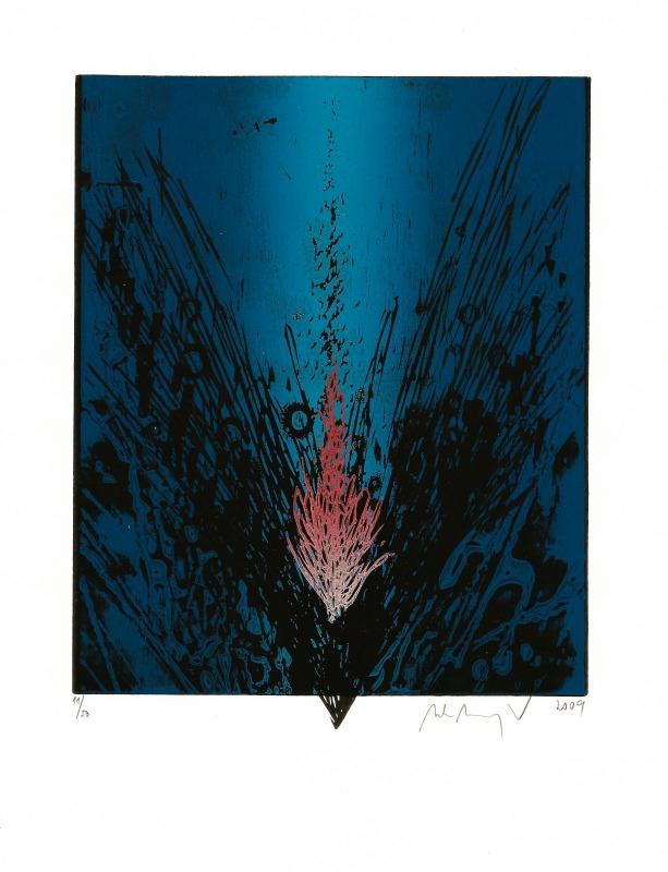 Manojlín Martin - Půlnoční květina I  - Print