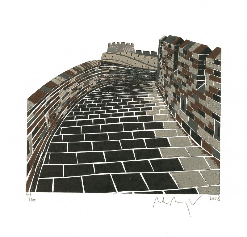 Manojlín Martin - The Great Wall of China II - Print