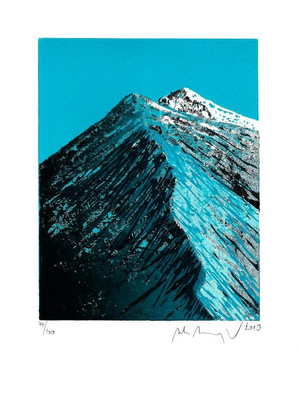 Manojlín Martin - Horský hřeben  - Print